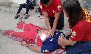 Treinamento prático com simulações de acidentes - Ecaph SMS Treinamentos e MonteVerde Cursos